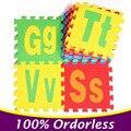 26 Unidades/pacote Letras EVA Puzzle Esteiras Jigsaw Educação das Crianças do Tapete Tapetes de Jogo Do Bebê Crianças Brincam Mat Brinquedo PX27