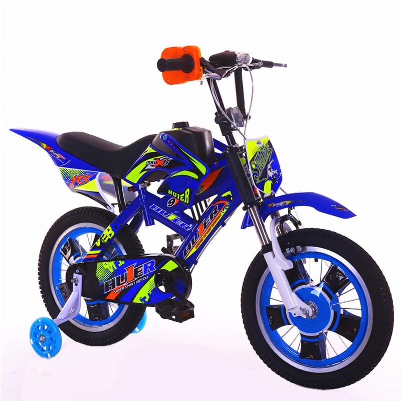 2018 neue Motorrad stil kinder Fahrrad 12 16 20-zoll Damping Mountain Jungen 2-13 Jahre Altes Kind radfahren kinder bicicleta