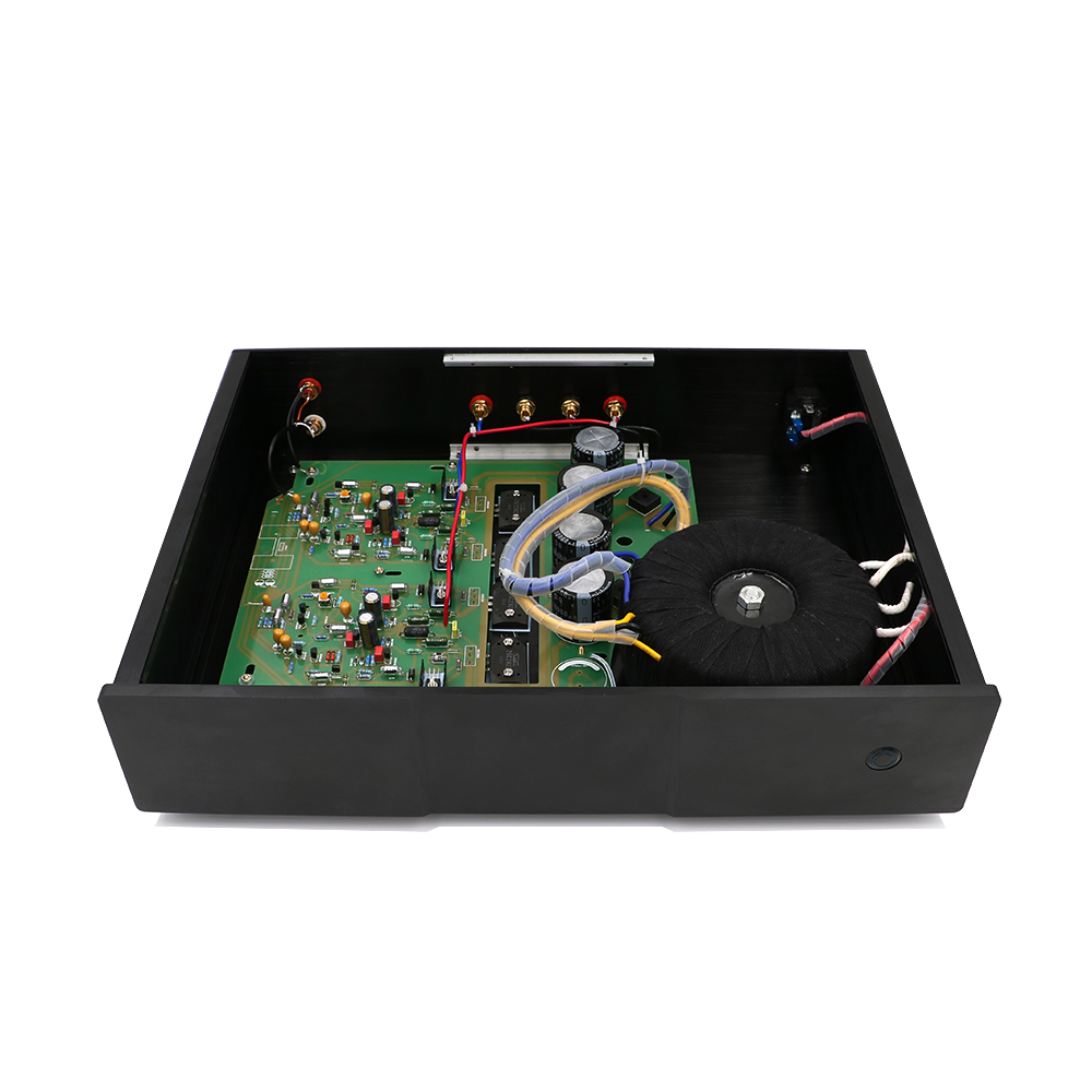 NAP200 Power amplifier base on UK NAIM Black Box Power amp finished machine 75W+75W цены