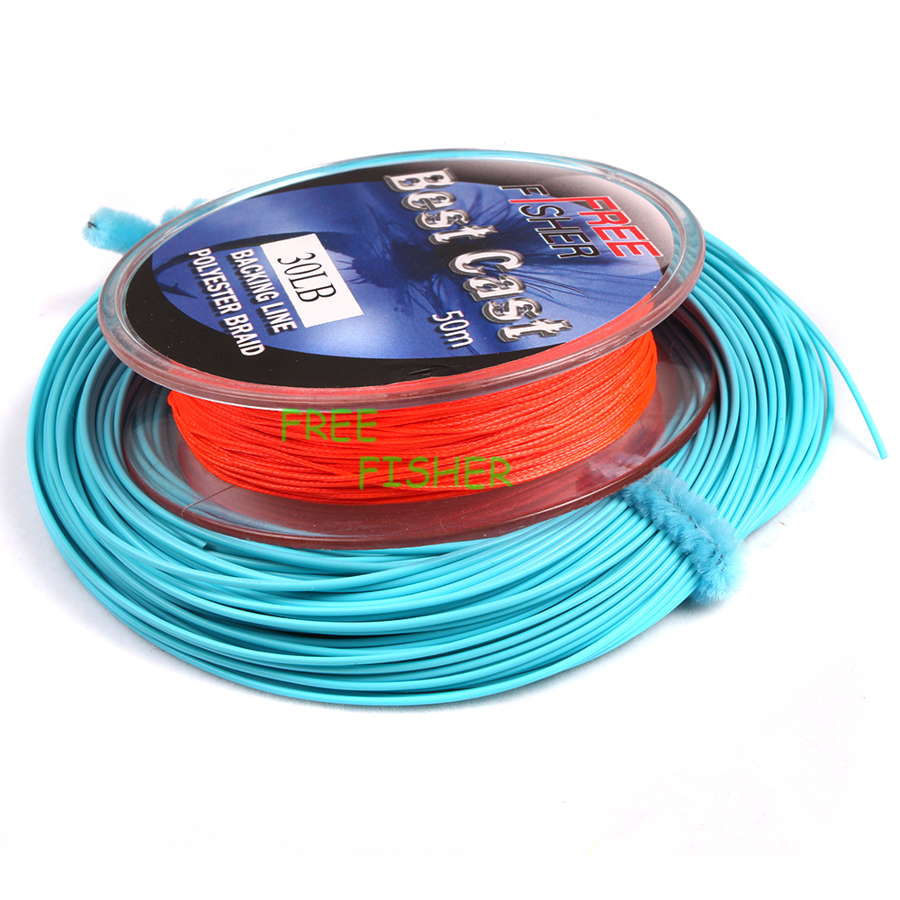 Free Fisher Fly Fishing Kit Fly Lines Leaders Loop Connector Backing ...