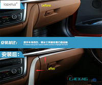 Lapetus Accessories For BMW 3 Series F30 316i 320i 328i 2013 2017 Co pilot Center Control Strip Decoration Molding Cover Trim