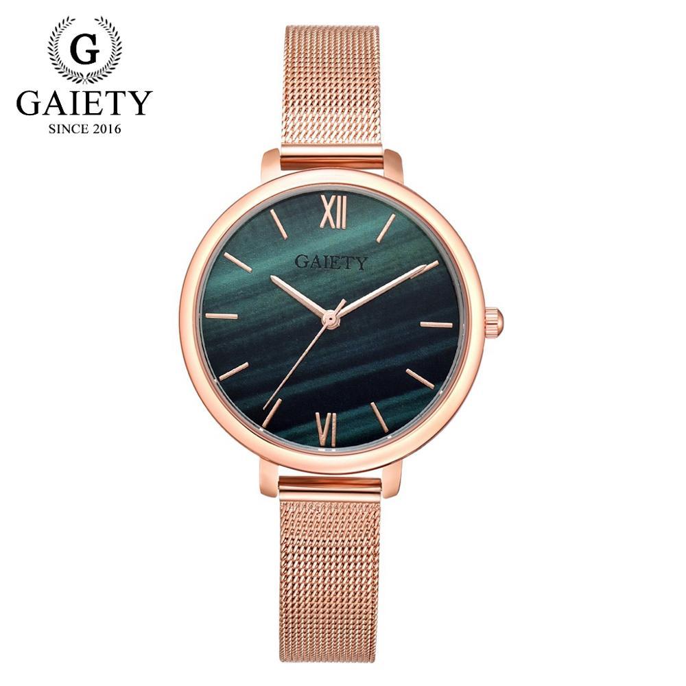 Damenuhren Funique Luxus Frauen Marmor Armband Uhren Stahlband Damen Kleid Uhr Männer Business Quarz Armbanduhr Paar Uhr Geschenke