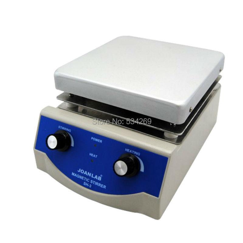 SH-3,Laboratory equipment Heating Plate magnetic stirrer bar mixer chemistry laboratory agitador magnetico100~2000rpm / min,5L sh 4 laboratory magnetic stirrer with heating stir plate magnetic mixer hotplate 19x19cm ceramic panel 0 2000rpm 5000ml volume