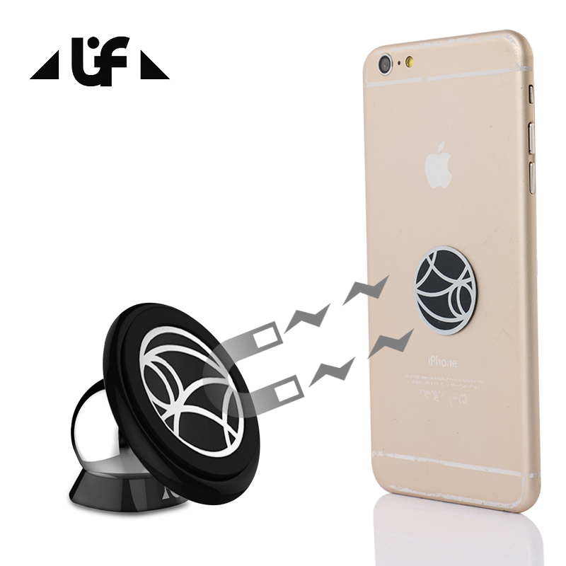 UF Magnetic Car Phone Holder for iPhone Samsung GPS Accessories Mobile Phone Car Holder Sticky