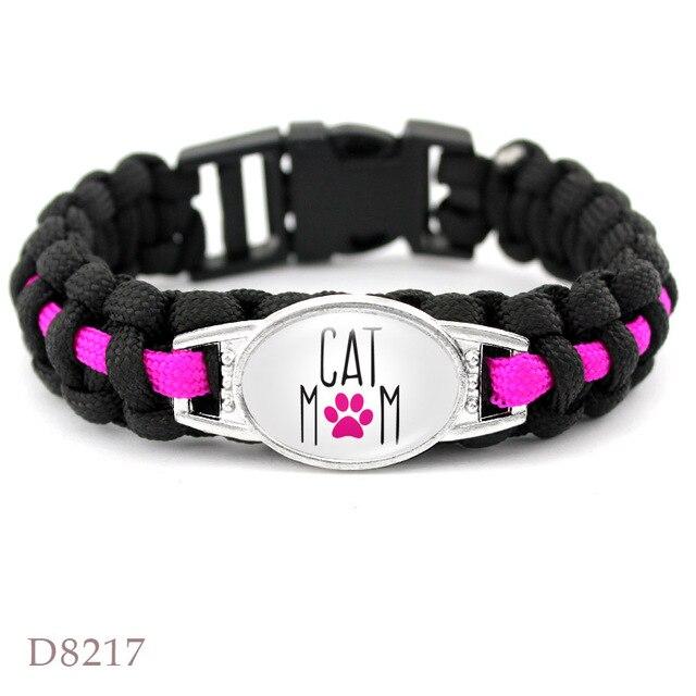 Dog mom paracord bracelets 3