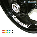 8 X CUSTOM INNER RIM DECALS WHEEL Reflective STICKERS STRIPES FIT KAWASAKI kawasaki