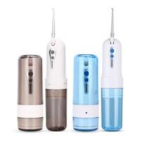 USB Portable Oral Irrigator Dental Water Floss Dental Flosser Teeth Cleaning Collapsible Dental Irrigator Water Jet Flosser