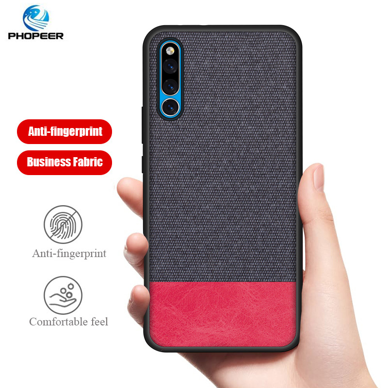 PHOPEER Silicone Case for Huawei Honor Magic 2 case Soft silicone fabric cloth protective cover Magic2