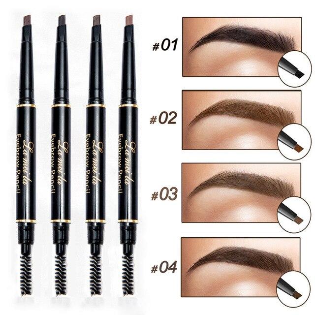 2018 New Model Eye Forehead Tint Cosmetics Pure Lengthy Lasting Paint Tattoo Eyebrow Waterproof Black Brown Eyebrow Pencil Make-up