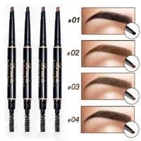 2019 neue Marke Eye Stirn Farbton Kosmetik Natürliche Lang Anhaltende Farbe Tattoo Augenbrauen Wasserdicht Schwarz Braun Augenbraue Bleistift Make-Up