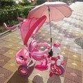 Vender sólo los accesorios UV paraguas paraguas paraguas Niños triciclo cochecito de bebé