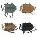 2016 New Tactical Outdoor Military Hunting Dog Clothes Load Bearing Training Vest Harness 5 Sizes XS-XL for Small Dogs Big Dogs