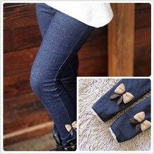 Бархатные кашемир тощий мать теплые случайные колготки джинсы леггинсы хлопка носки