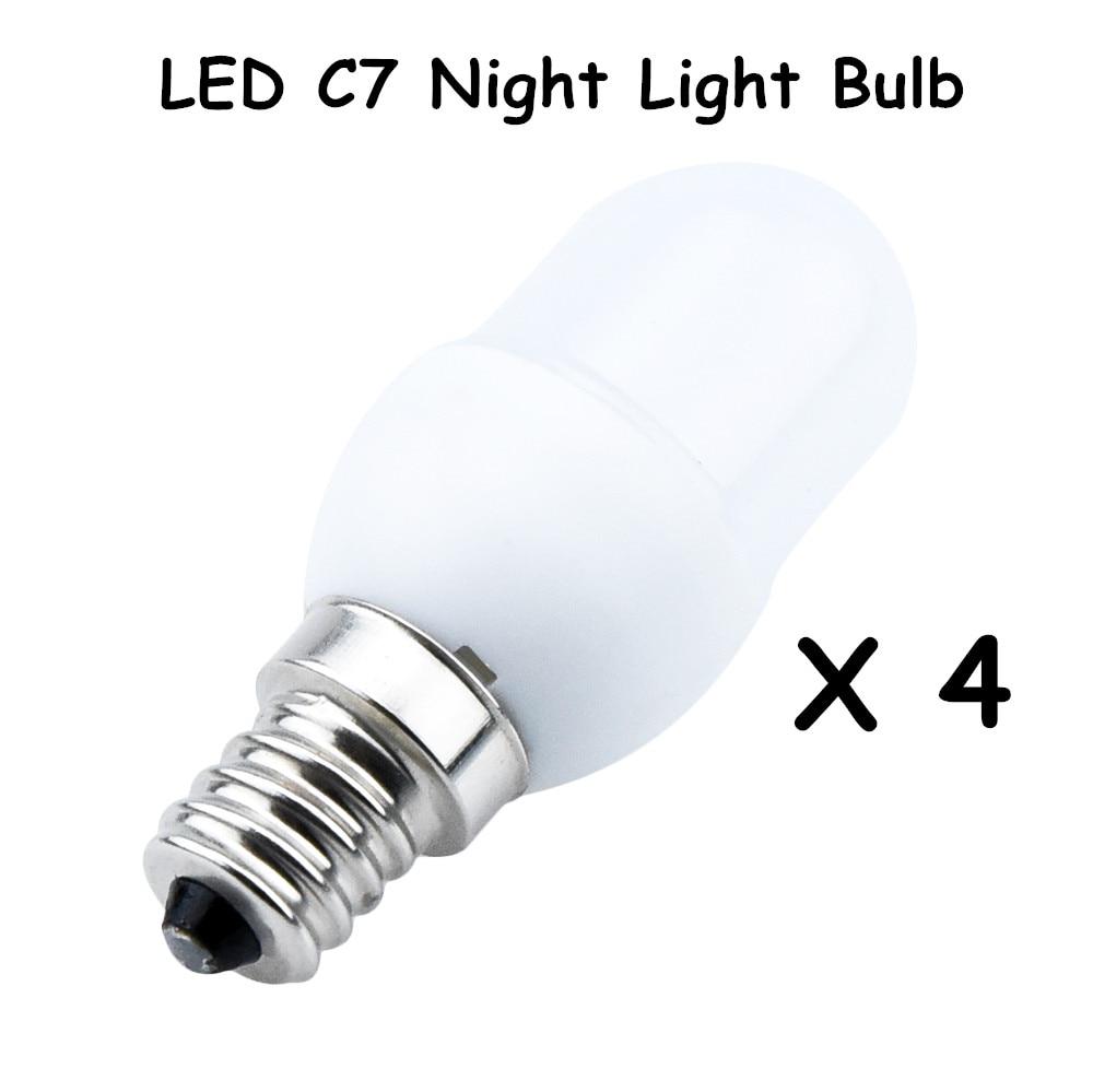 led c7 night light bulbs 0 5 watt 7w 10w replacement incandescent bulb 20lm e12 candelabra. Black Bedroom Furniture Sets. Home Design Ideas