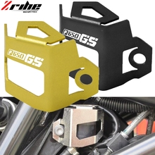 for F650 GS logo Motorcycle Aluminum Front Brake Fluid Reservoir Guard Protective Cover For BMW F800GS CNC accessories