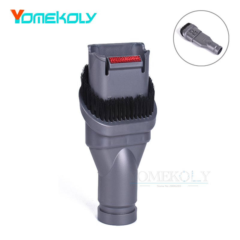 1PC 2-in-1 Brush Suction Head for Dyson DC34 DC35 D37 D39 DC45 V6 Vacuum Cleaner Replacement Parts Brushes Head ручной пылесос handstick dyson v6 cord free extra sv03 350вт желтый