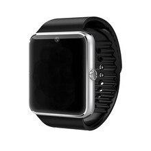 2016 Smart Watch GT08 reloj inteligente Dispositif Portable Bluetooth Montres Intelligentes Soutien Sim Carte Télécommande MP3 Et Appareil Photo