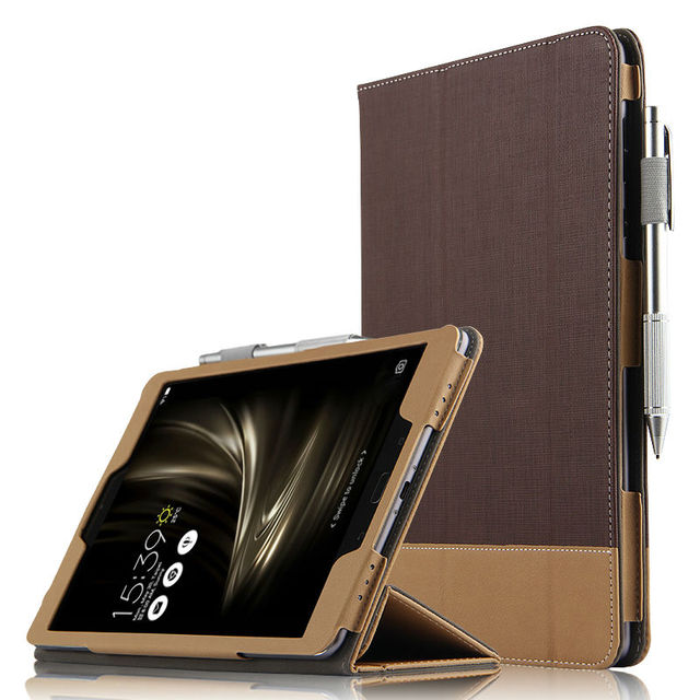quality design 21946 59174 US $14.03 5% OFF Case For ASUS ZenPad 3S 10 Protective Smart cover Leather  Tablet For asus ZenPad 3 s 10 Z500M P027 9.7