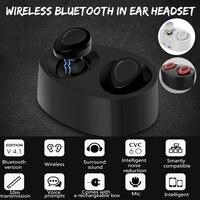 Wireless Mini True Bluetooth Earphone Twins Stereo In Ear Hands Free In Ear Headphone Earbuds Headset