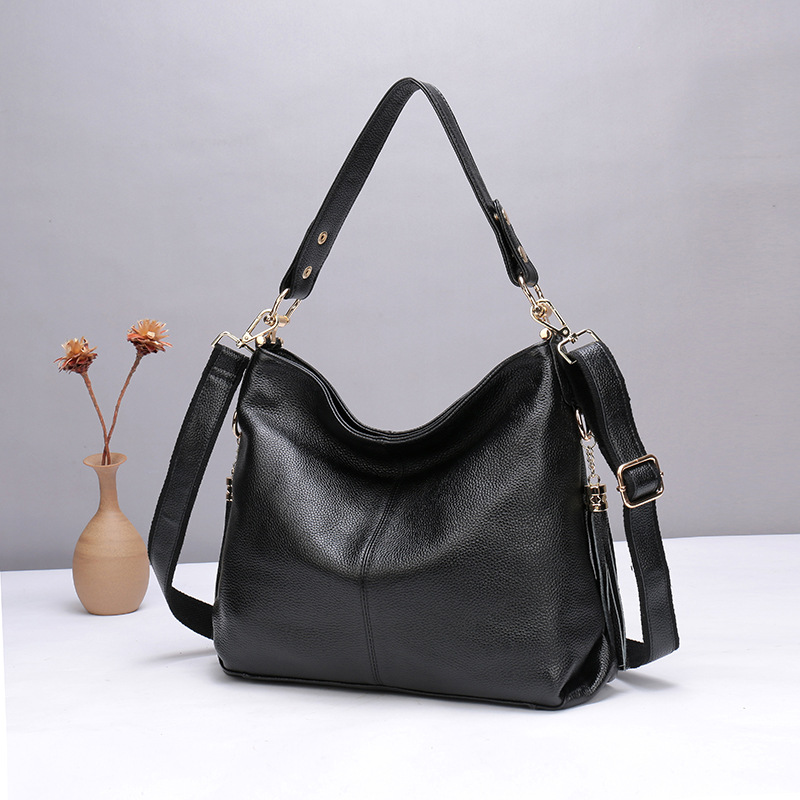все цены на New Genuine Leather Fashion Handbags Women Tote Shoulder Bags Messenger Bags Luxury Designer Crossbody Bag Bolsa Top-handle Bags