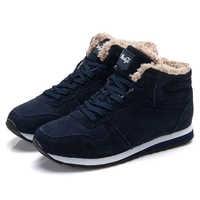 Men Shoes 2019 Winter Men Sneakers Plus Size 48 Lovers Vulcanize Shoes High Top Male Winter Footwear Zapatos De Hombre