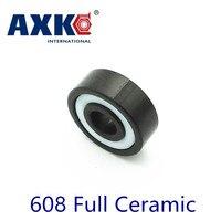 2017 Top Fashion Sale Axk 608 Full Ceramic Bearing 1 Pc 8 22 7 Mm Si3n4