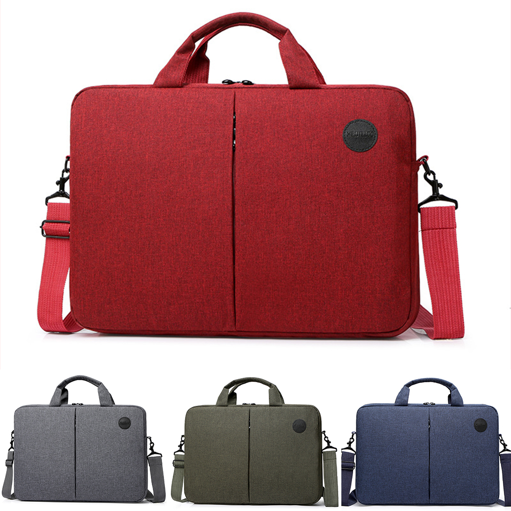 Womens Mens Laptop Messenger Carry Bag For Macbook Dell HP 15 15.6 Inches Male Female Laptop Shoulder Bag Carrying Case