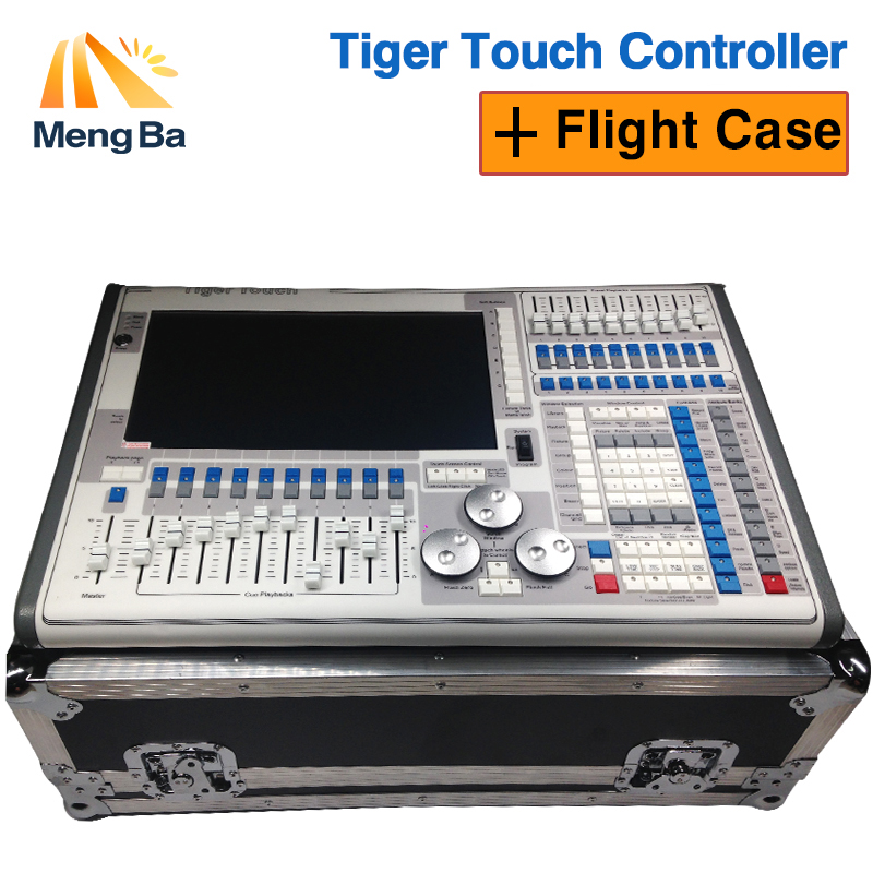 New tiger touch 10.1 system controller and tiger touch plus with two flightcase