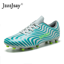 9b8b73dd415 Men Football Shoes kids Soles Anti Slip Professional Training Sneakers  Sports Soccer Shoes Cheap Youth Football