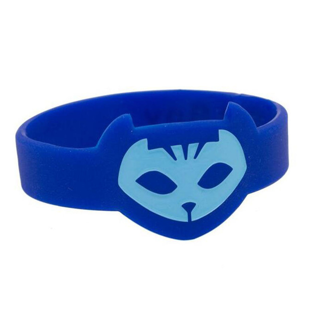 PJ MASKS Wristban Characters Catboy Owlette Gekko Cloak Masks Action Figure Toys for Children Gifts Cosplay One Piece Pjmask