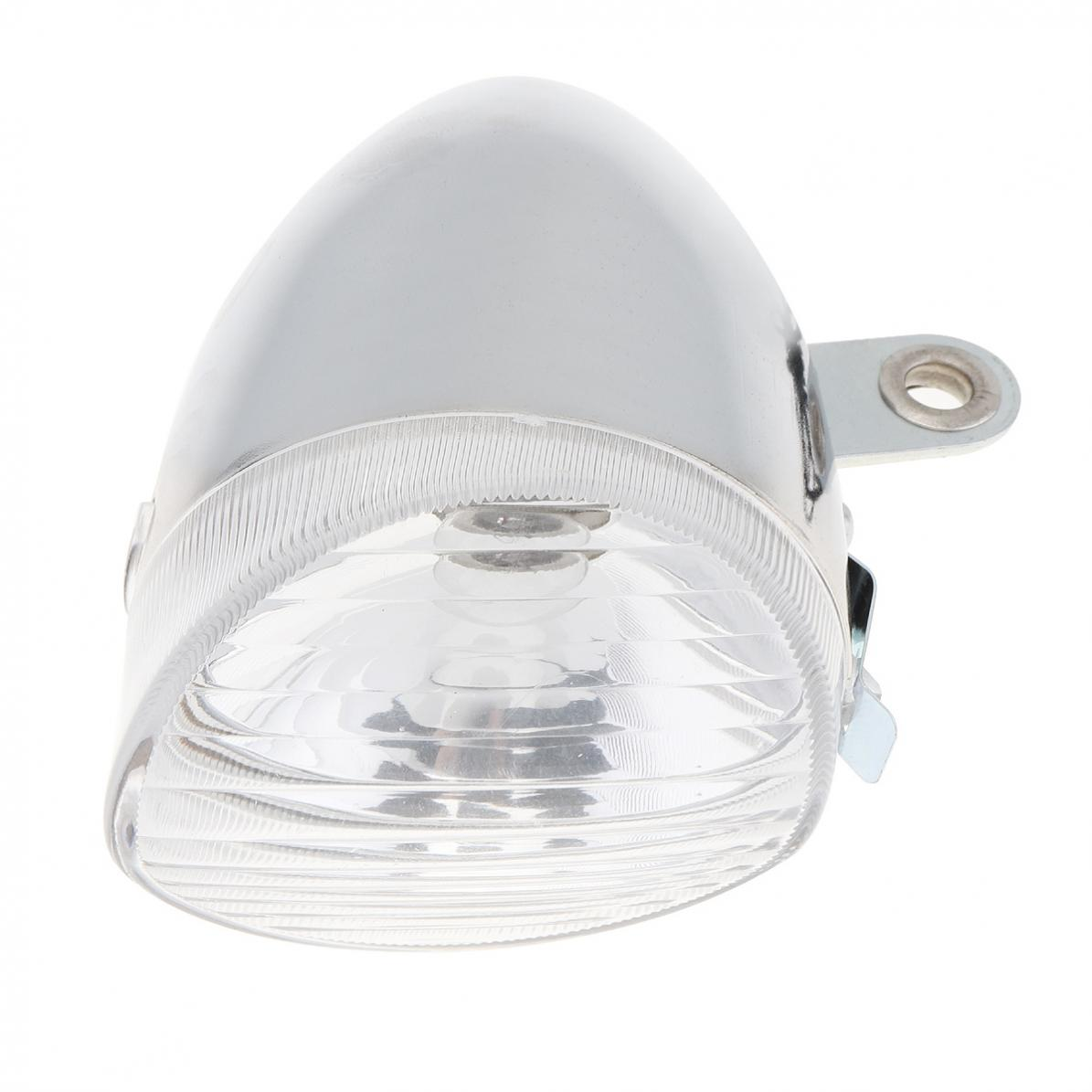 6V 3W White Bike Bicycle Dynamo Lights LED Front Light Headlight Rear Light