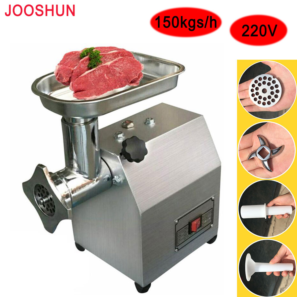 commercial meat grinder 150kgh production electric herb spice grinding machine industrial stainless