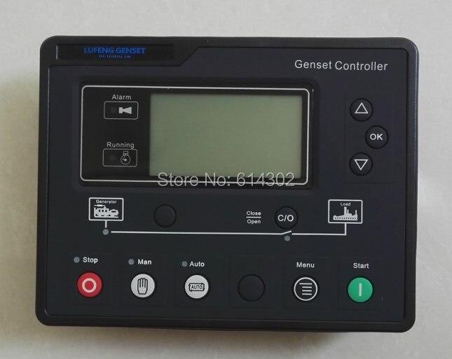 LF610 diesel generator controller instead of GU320B Harsen brand generator controller / ATS module lxc3120 lixise diesel generator ats controller module oringal high quality