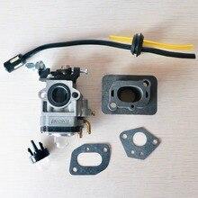 Base para carburador, conector múltiple de admisión, manguera de combustible, 43cc, 52cc, 40 5, BC430, CG430, CG520, 1E40F 5, 44F 5, Motor, desbrozadora