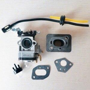 Image 1 - Carburetor Base Connector Intake Manifold Fuel Hose 43cc 52cc 40 5 BC430 CG430 CG520 1E40F 5 44F 5 Motor Brush Cutter Trimmer