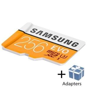 Image 5 - Карта памяти SAMSUNG Microsd, 256 ГБ, 128 ГБ, 64 ГБ, 100 МБ/с./с, класс 10, U3, 32 ГБ, 95 МБ/с./с, U1, SDXC, EVO, карта Micro SD, TF флеш карта