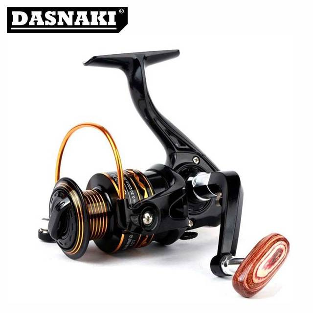 Best Price DASNAKI Fishing Reel All metail line cup Spinning Fishing Reel Left / Right Hand GF1000-7000 carretilhas de pesca Fly Fishing