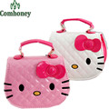 New Designers Children Hello Kitty Handbag Kids Tote Girls PU Leather Shoulder Bag Bowknot Princess Mini Evening Bag for Girls