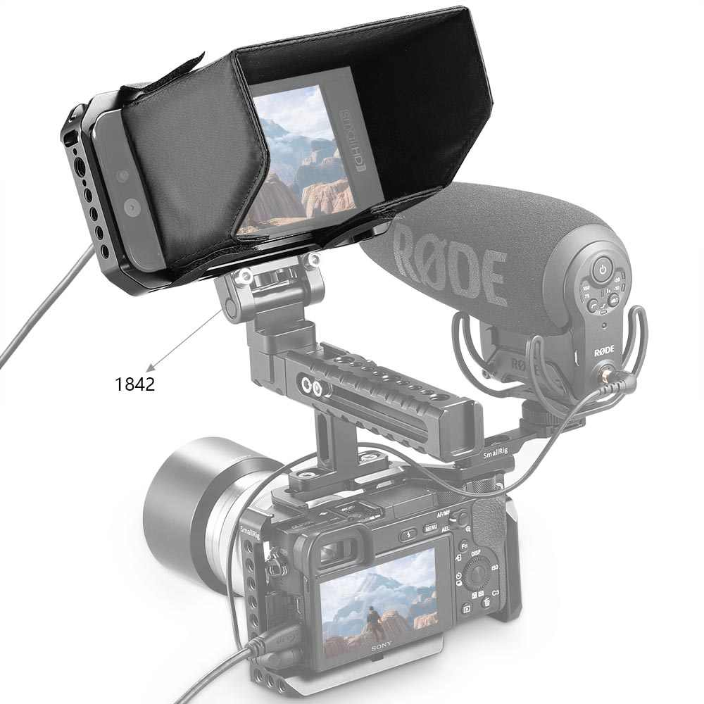 SMALLRIG Monitor Cage for SmallHD 501//502 Monitor 2177