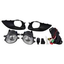Спереди дальнего света тумана рычаг управления для мотоцикла кабели реле лампы монтажные салазки для Toyota Yaris базы Core Премиум S Седан 4 двери
