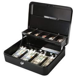 30 سنتيمتر * 24 سنتيمتر * 9 سنتيمتر كلمة مفتاح قفل عالية الجودة المعادن الصراف الادخار مربع النقدية صناديق