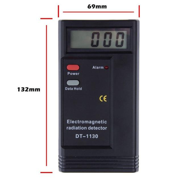 New Electromagnetic Radiation Detector EMF Meter Tester radiation dosimeter Ghost Hunting Equipment Free Shipping