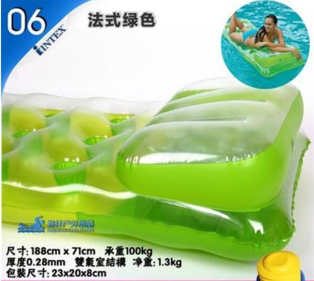 188 * 71 CM Nadmuchiwane Pływające Wiersz Pływające Powietrze - Sporty wodne - Zdjęcie 5