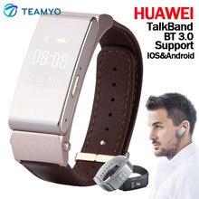 Оригинальный умный Браслет Huawei Talk Band B2 SmartWatch 22 мм Bluetooth Браслет Носимых устройств фитнес-трекер для IOS Android