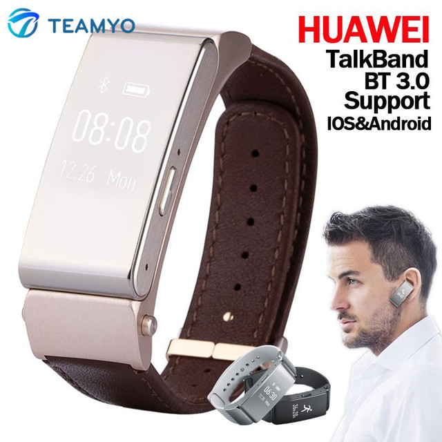 huawei smartwatch b2. original smart bracelet huawei talk band b2 smartwatch 22mm bluetooth wristband wearable devices fitness tracker for