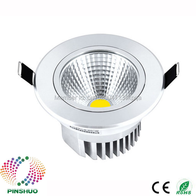 (60PCS / Lot) Garantie 3 ans 5W 12W 15W 30W 7W Dimmable LED Down - Éclairage LED