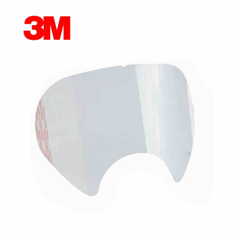 3M 6885 lens cover Faceshield Face Shield Cover full face gas mask respirator Protective film 6800 use Respiratory Accessory