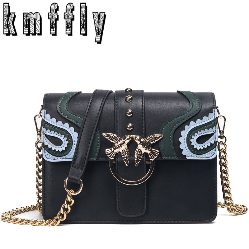 KMFFLY  luxury handbags women bags chain Flowers bag handbags women famous brand designer bag Crossbody Messenger bag sac a main famous brand handbags women shoulder bag designer plush ball chain leather bag small crossbody bags for women sac a main