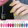 Belen 10ml UV Gel Nail Polish Neon Color UV Lamp Soak off Gel Polish LED UV Gel Color Nail Gel lacuqer Vanishes Nail Art