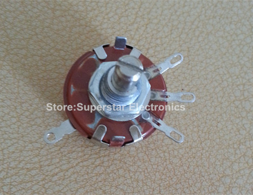 2PCS WTH118-1A 2W 470 ohm Rotary Taper Potentiometer